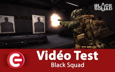 Test vidéo [DECOUVERTE] Black Squad, une alternative de CSGO !